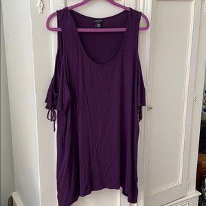 Torrid purple shirt